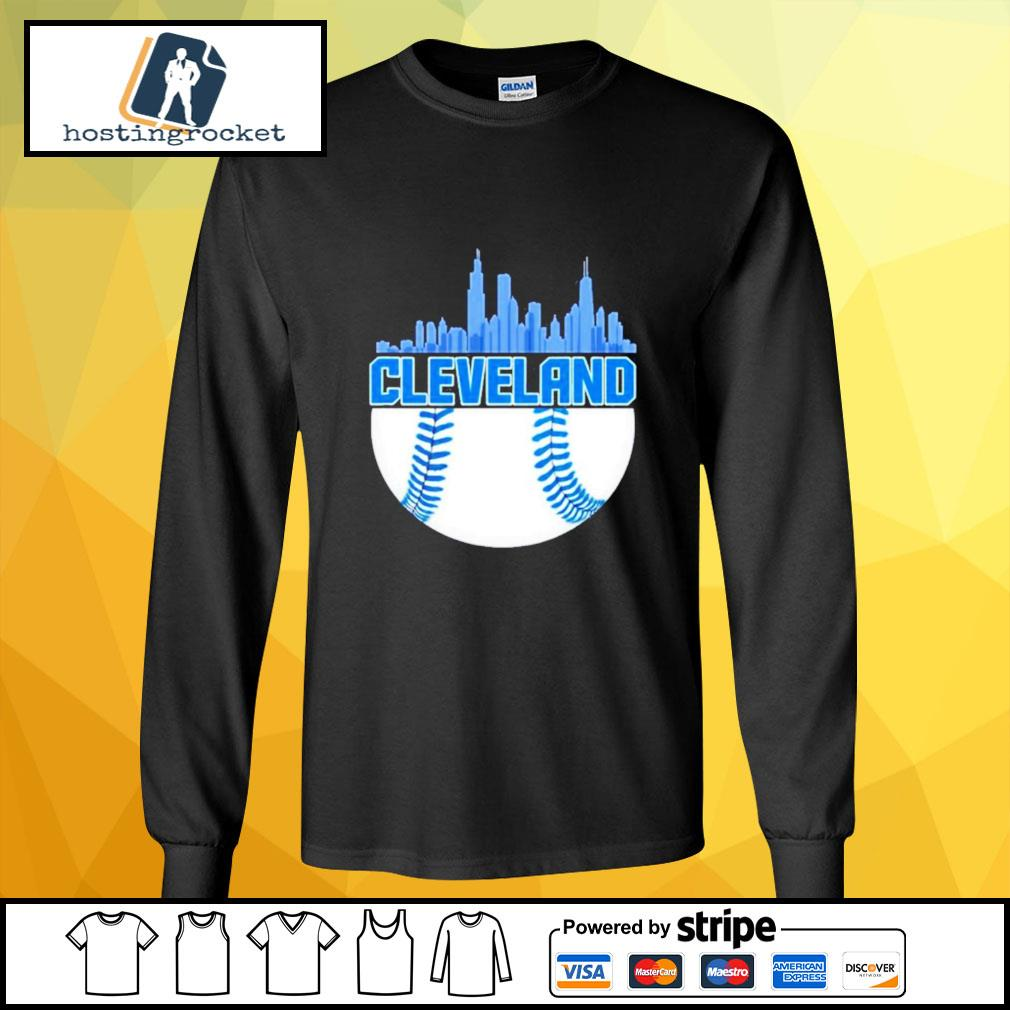Baseball Cleveland Hometown Indian vintage longsleeve-tee