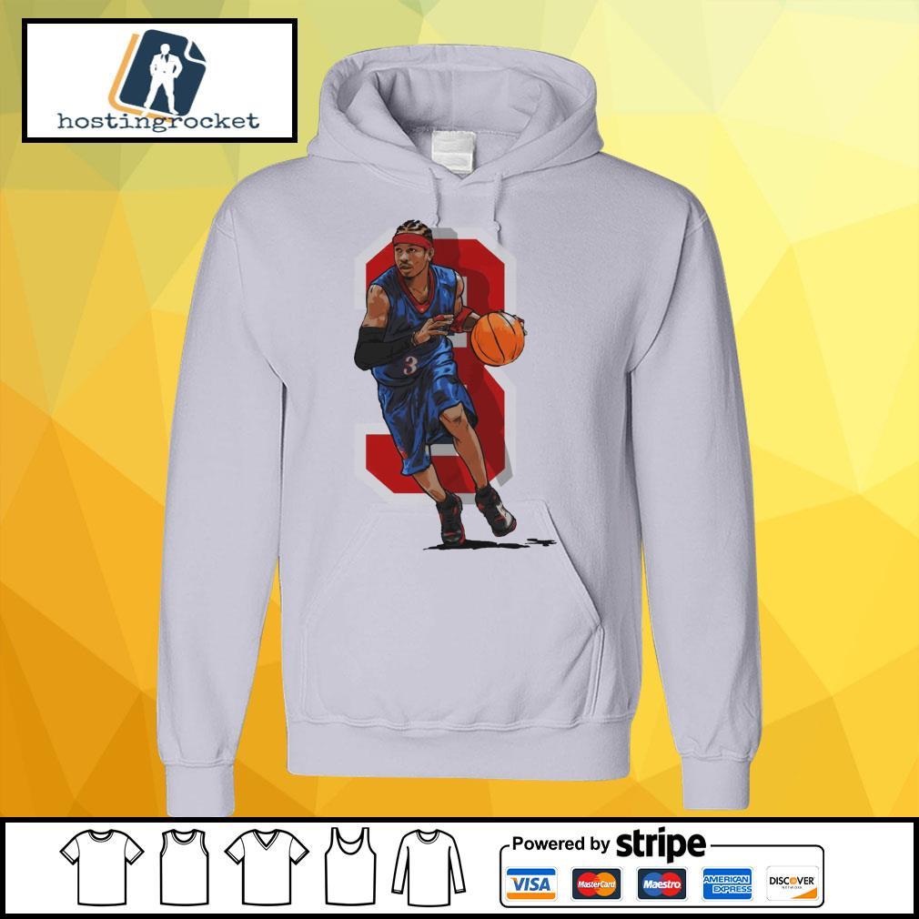 Basketball Allen Iverson Philadelphia hoodie