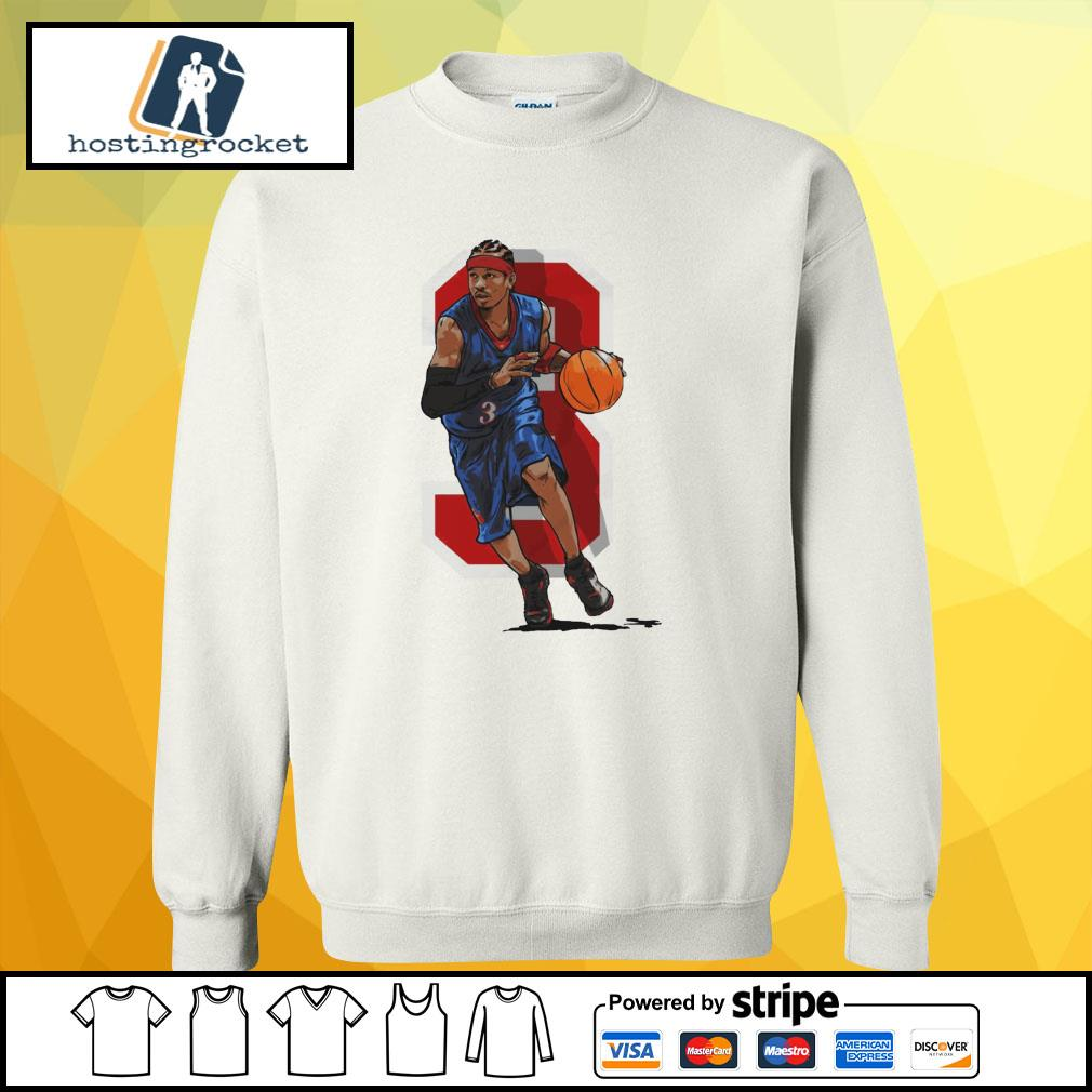 Basketball Allen Iverson Philadelphia sweater