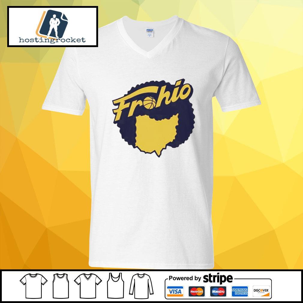 Cleveland used to be in Ohio Fruhio v-neck t-shirt