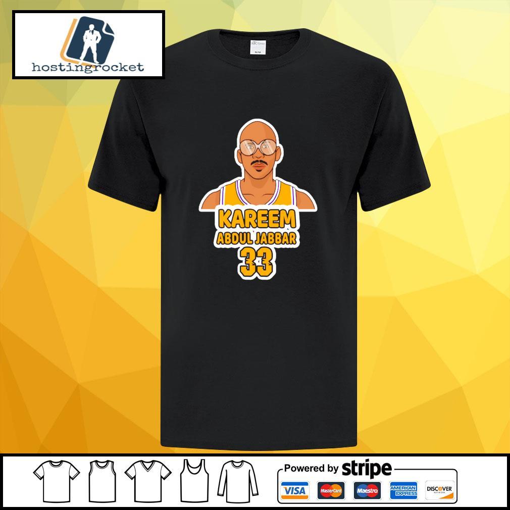 Kareem Abdul Jabbar 33 shirt