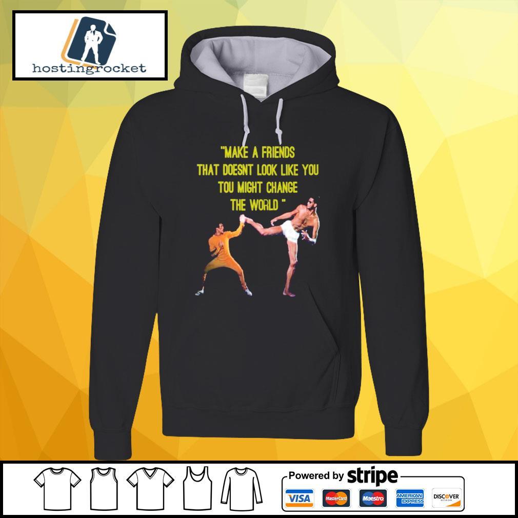 kareem Abdul Jabbar make a friend hoodie