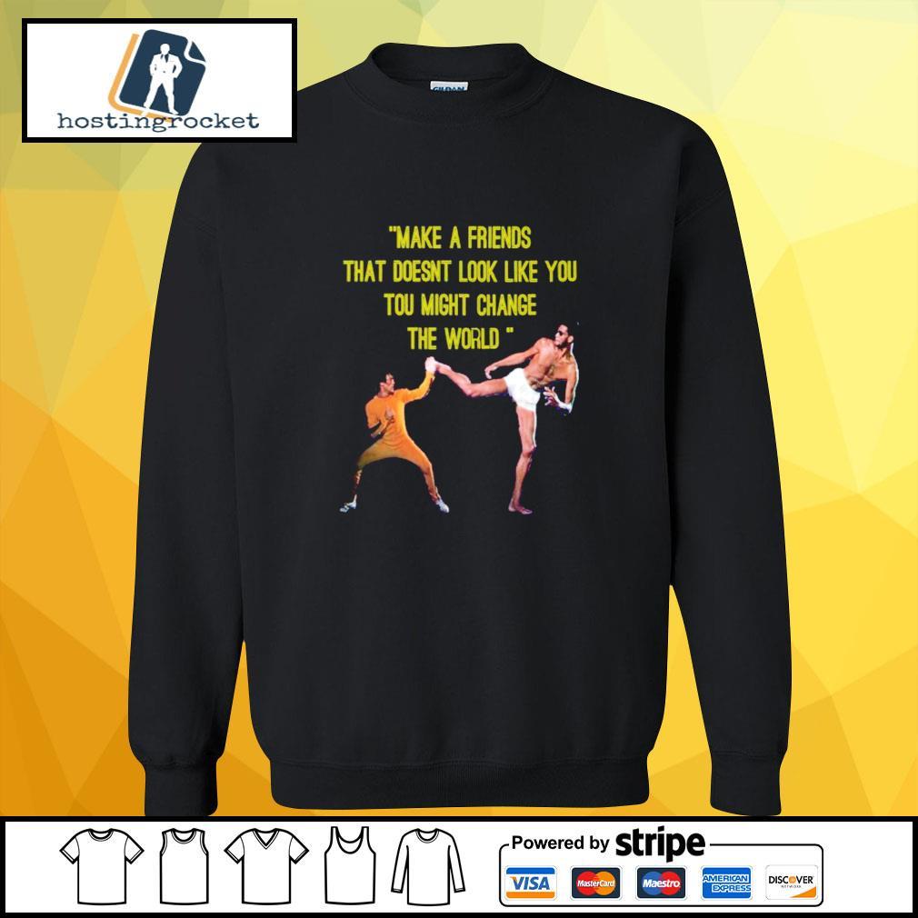 kareem Abdul Jabbar make a friend sweater