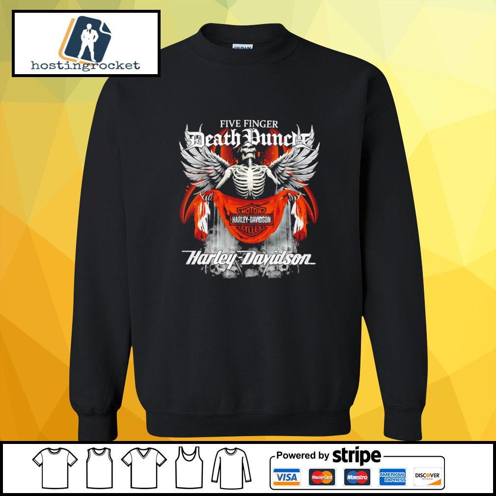 Official Five finger Death Punch Harley Davidson sweater
