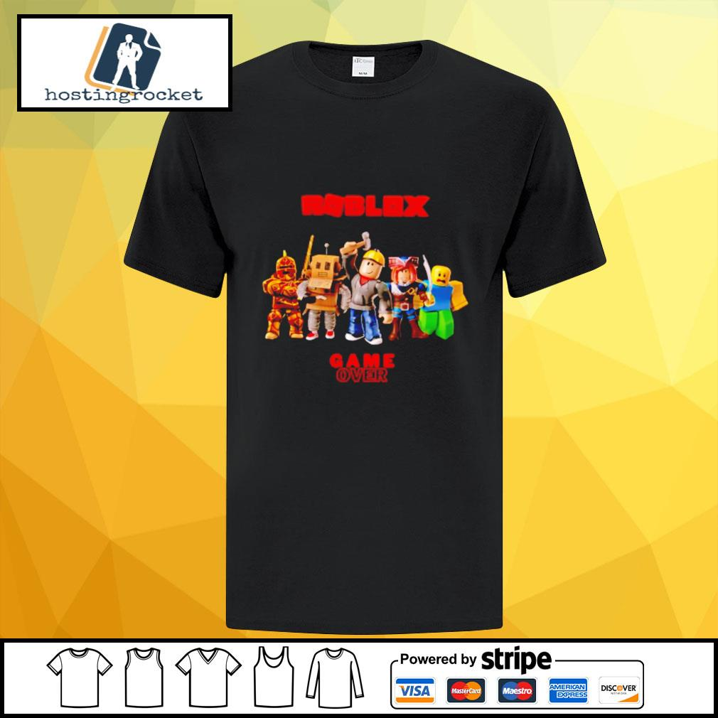 Roblox Game over shirt