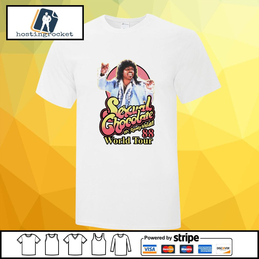 Sexual Chocolate Mr Randy Watson World Tour 88 shirt