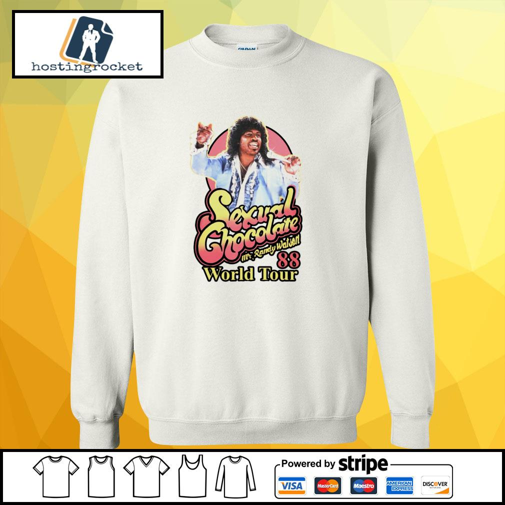 Sexual Chocolate Mr Randy Watson World Tour 88 sweater