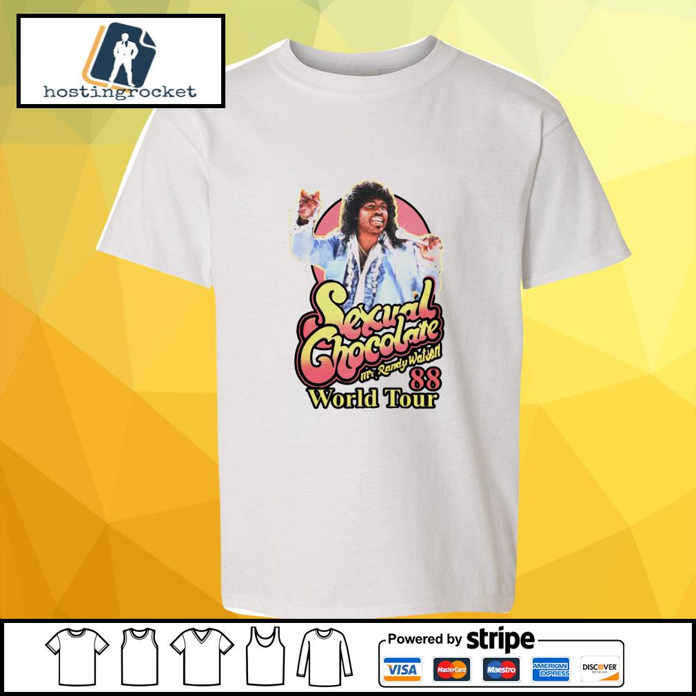 Sexual Chocolate Mr Randy Watson World Tour 88 youth-tee