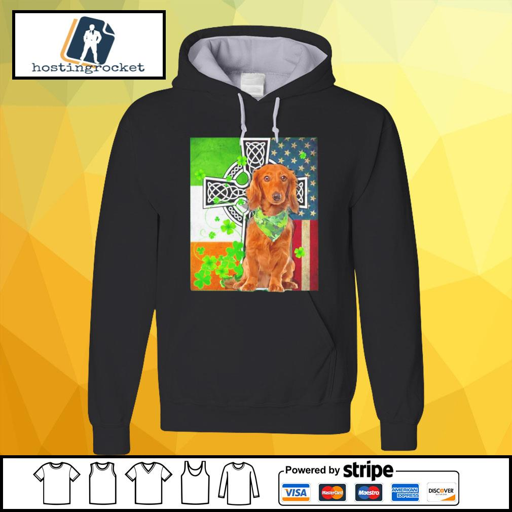 St. Patrick's Day Golden Retriever Irish hoodie