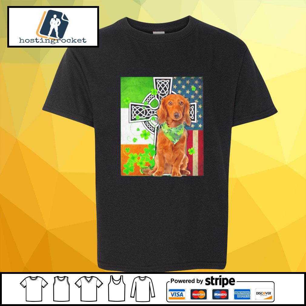 St. Patrick's Day Golden Retriever Irish shirt