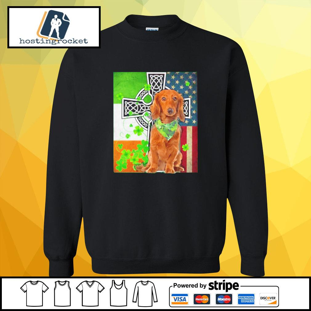 St. Patrick's Day Golden Retriever Irish sweater