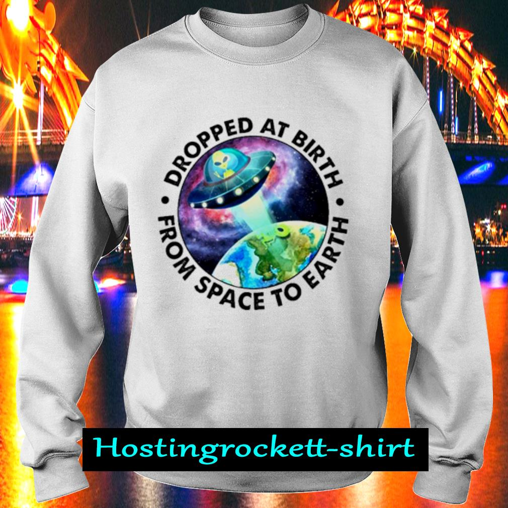 Ufo Alien Dropped at birth from space to Earth s Sweater
