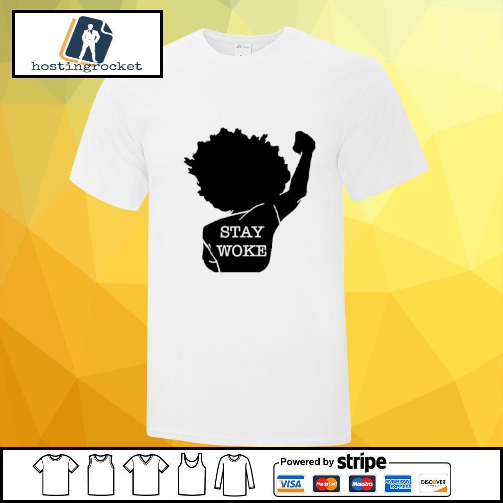 Black Girl Stay Woke Shirt