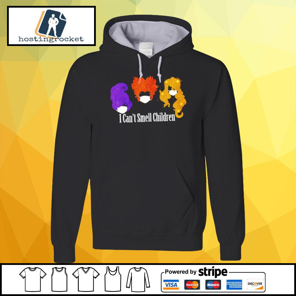I Can't Smell Children Halloween s hoodie