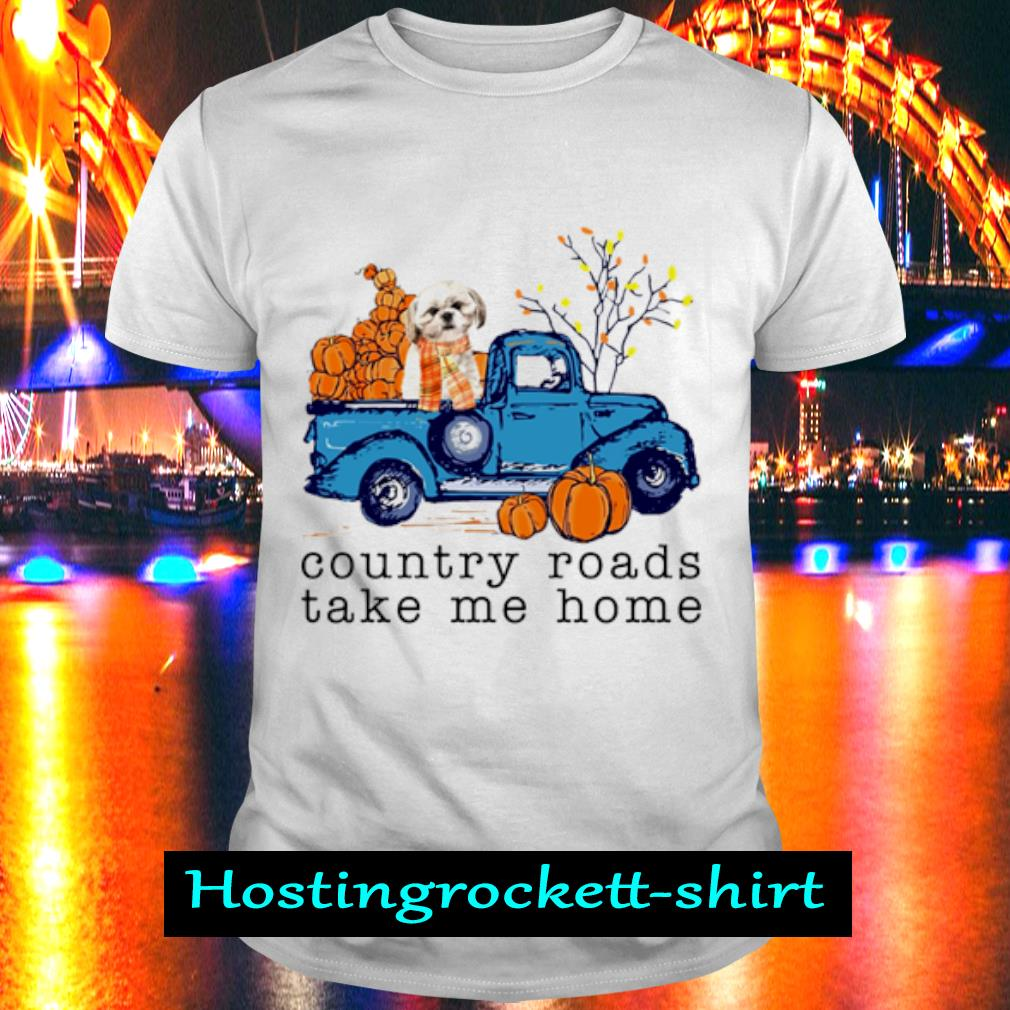 Pomeranian Country roads take me home shirt