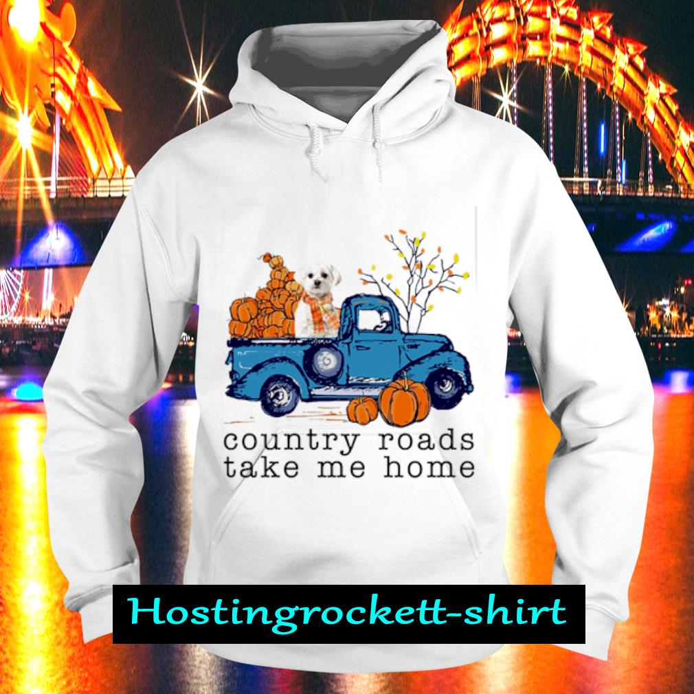 Poodle Country roads take me home s Hoodie