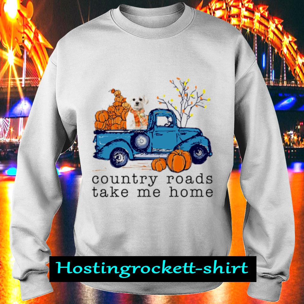 Poodle Country roads take me home s Sweater