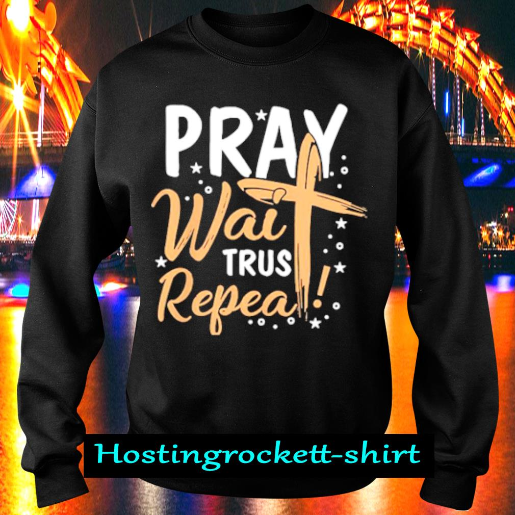 Pray wait Trust Peppa s Sweater