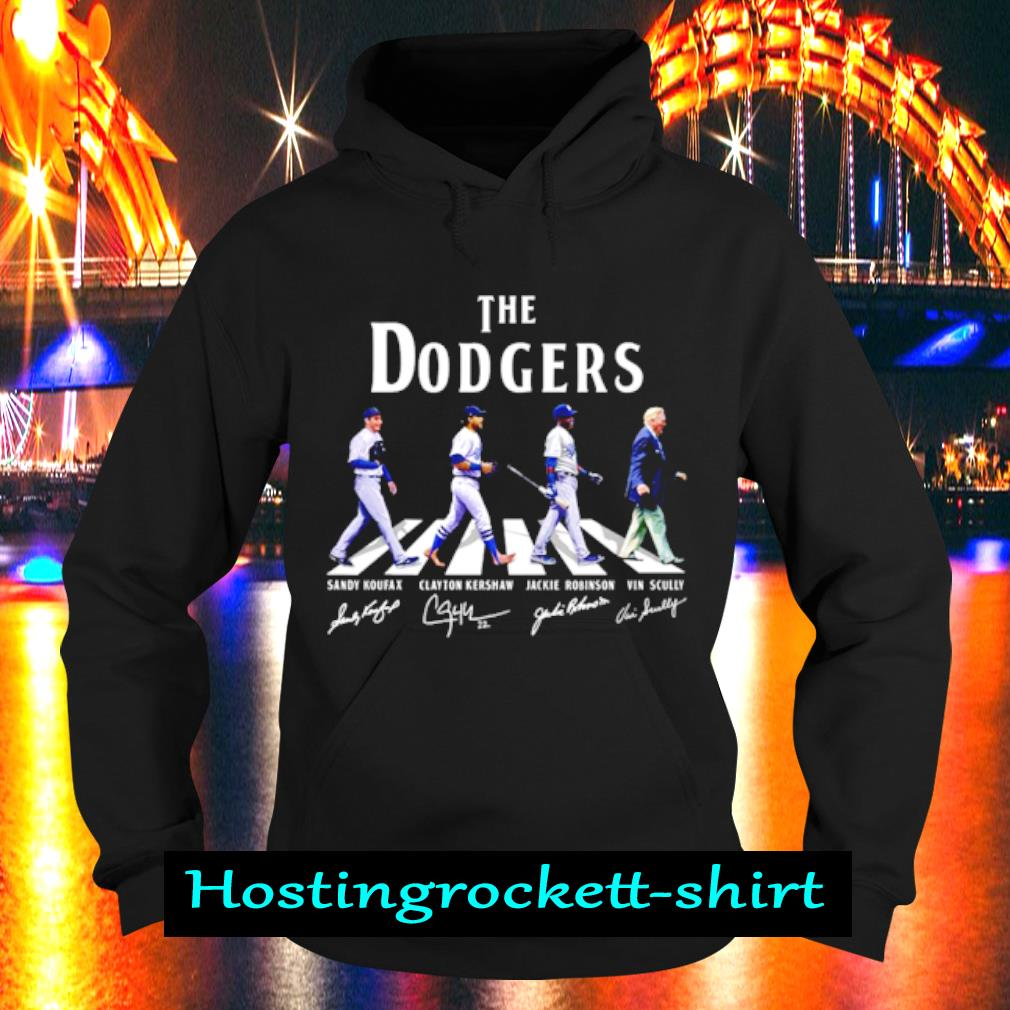 The Dodgers signature s Hoodie