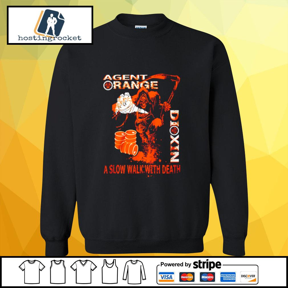 Agent range dixin a slow walk with death s sweater