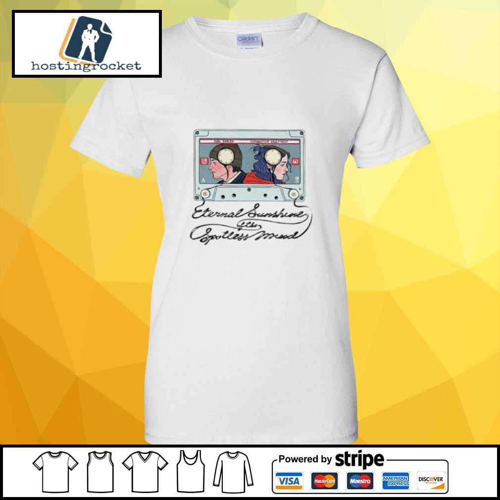 Eternal Sunshine Of The Spotless Mind Shirt ladies-tee