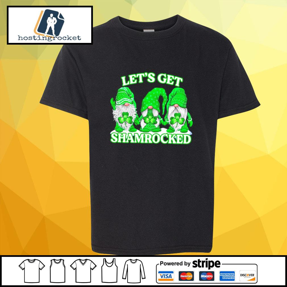 Gnomes let's get shamrocked s shirt