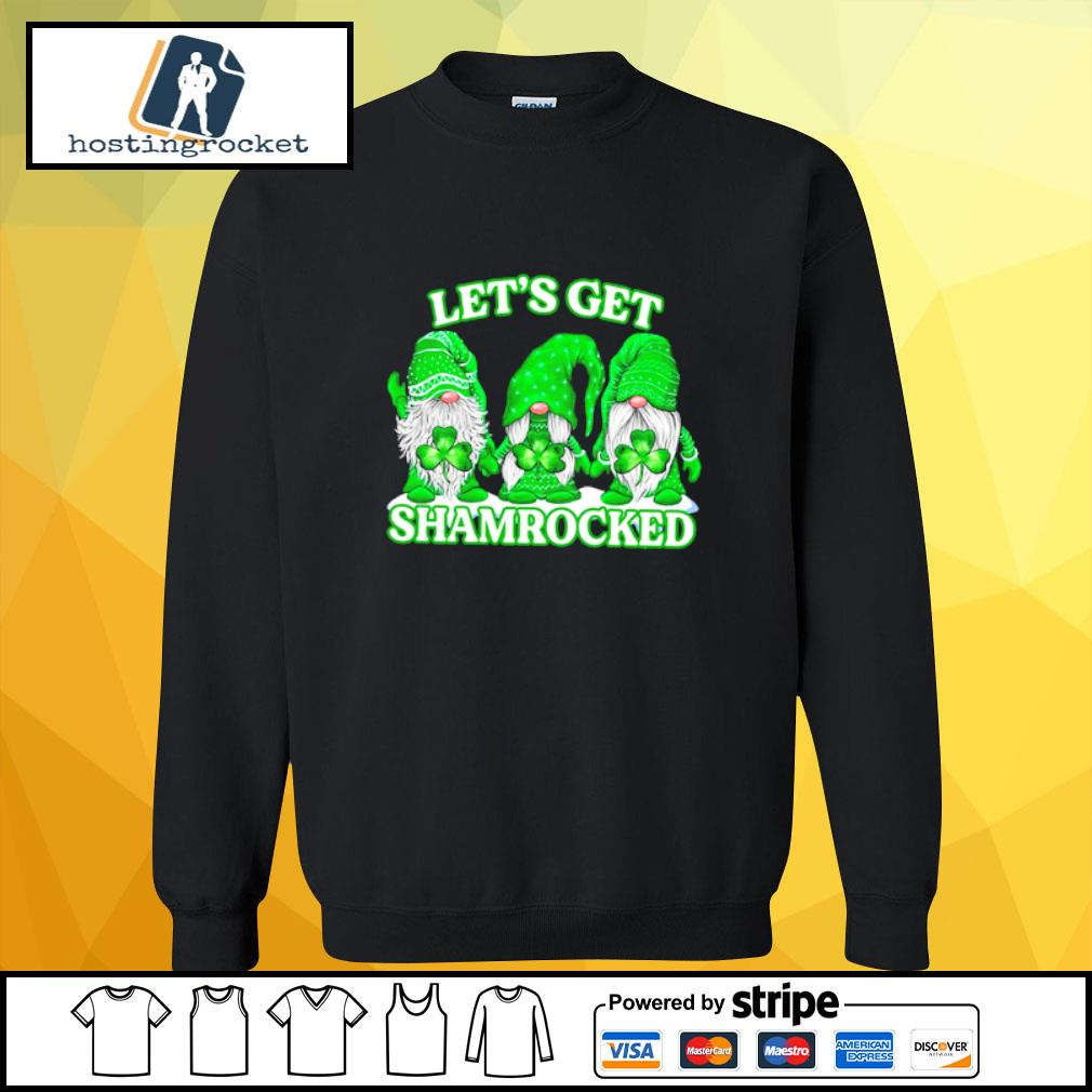 Gnomes let's get shamrocked s sweater