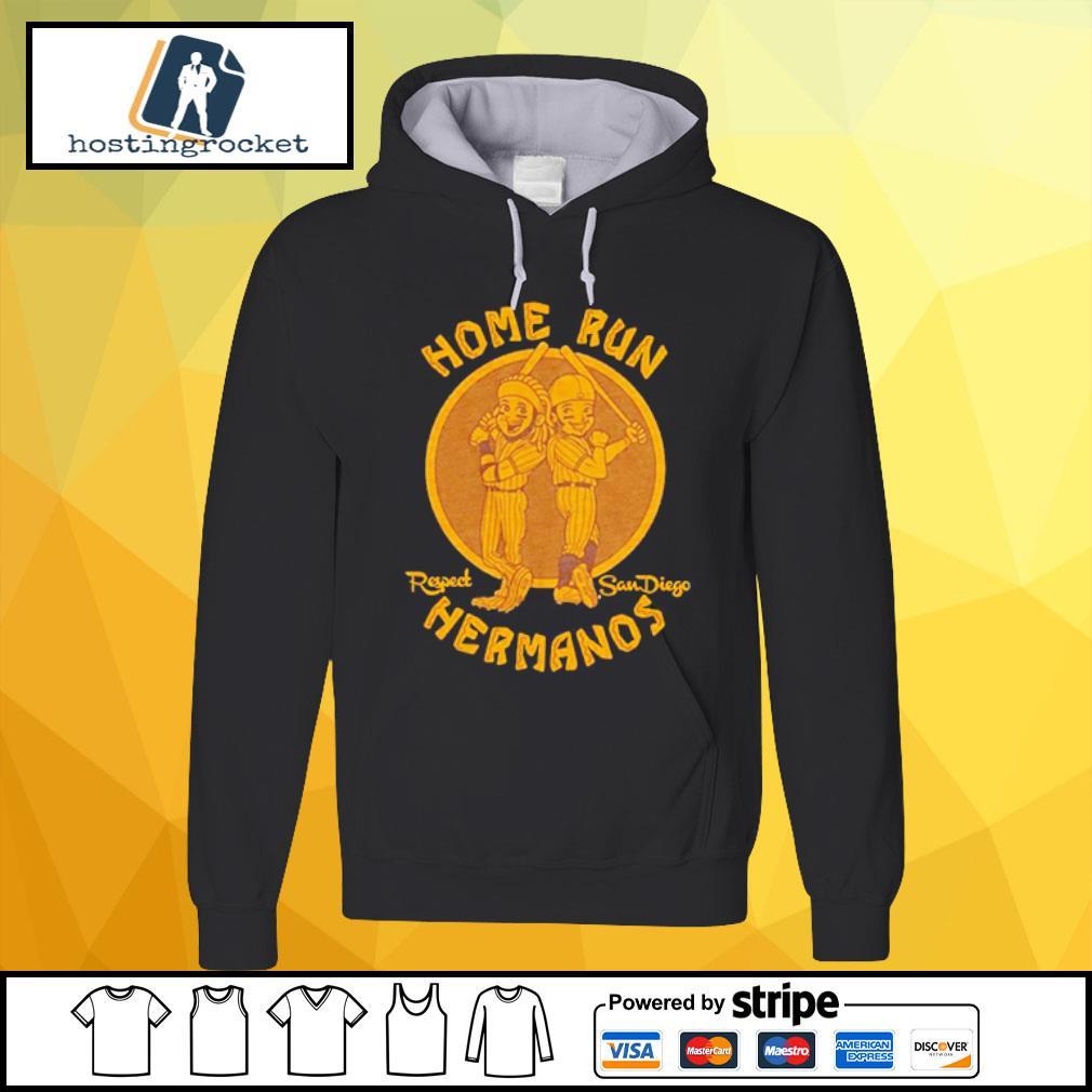 Home run respect San Diego Hermanos s hoodie