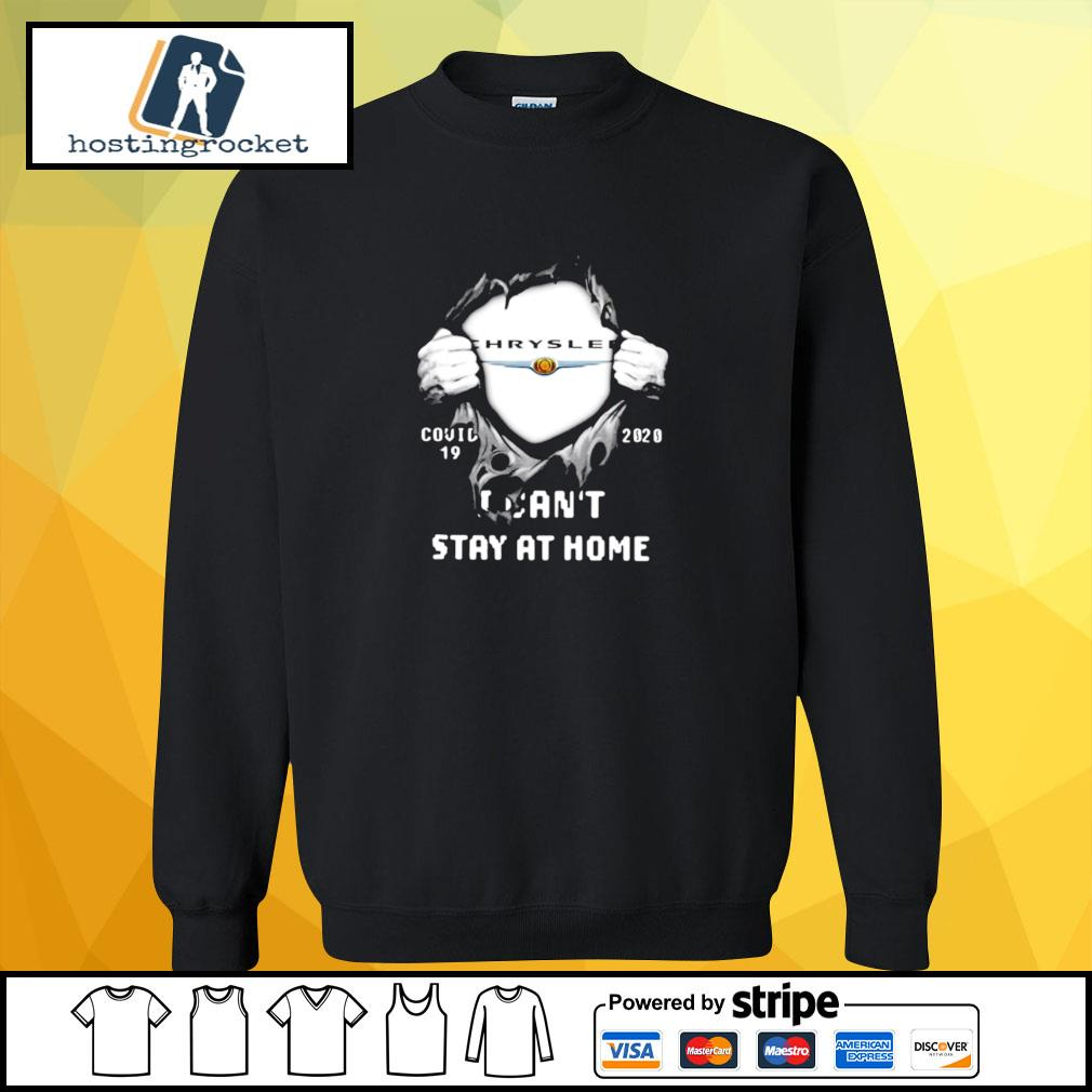Blood Inside Me Chrysler Covid 19 2020 I Cant Stay At Home Halloween s sweater
