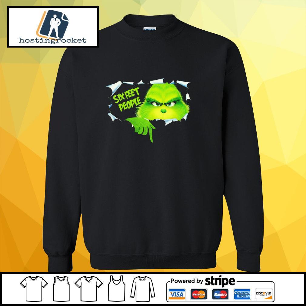 Blood inside me Grinch six feet people s sweater