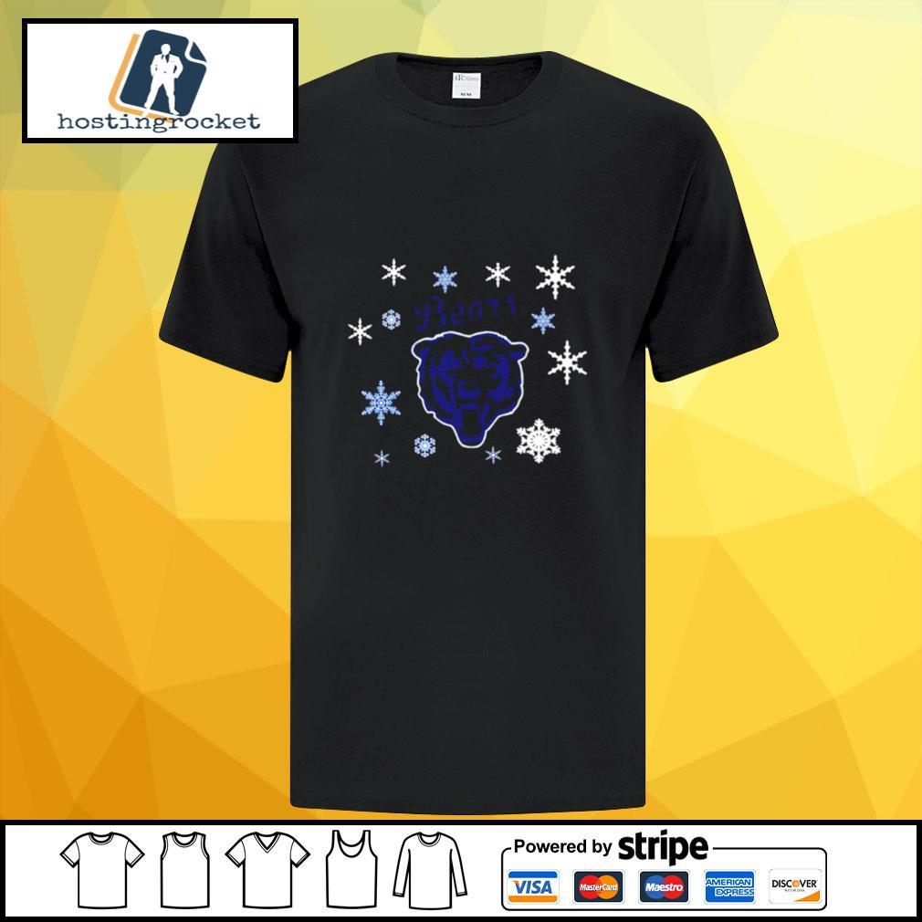 Chicago Bears Hallmark Christmas shirt
