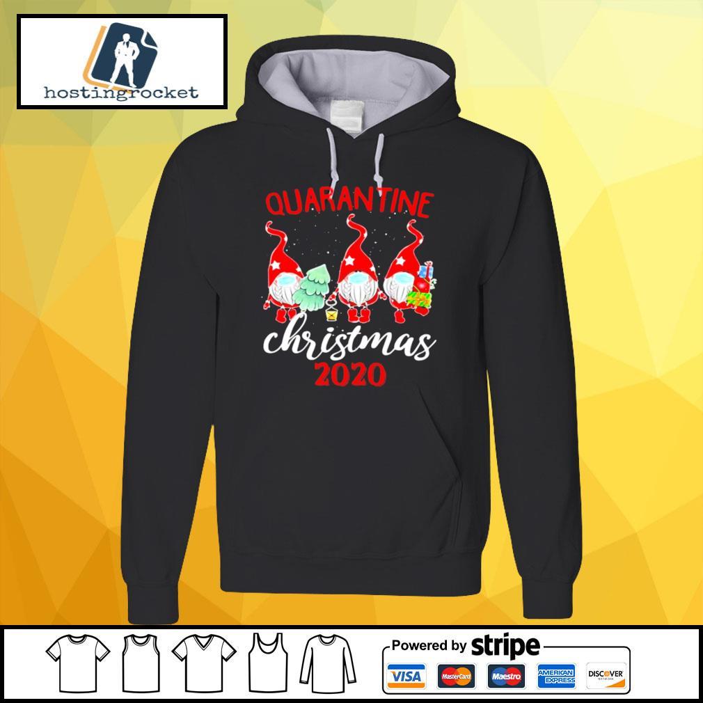 Gnomies Quarantine Christmas 2020 s hoodie