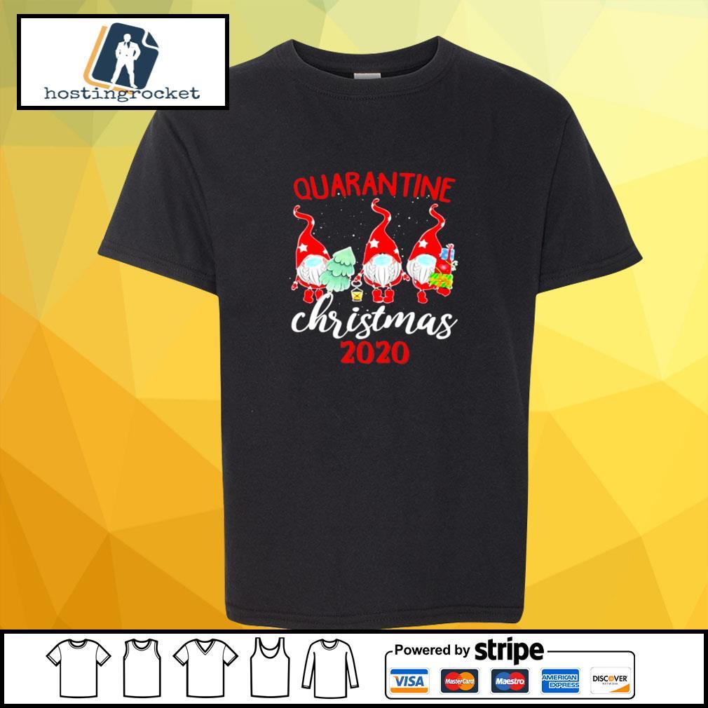 Gnomies Quarantine Christmas 2020 s shirt