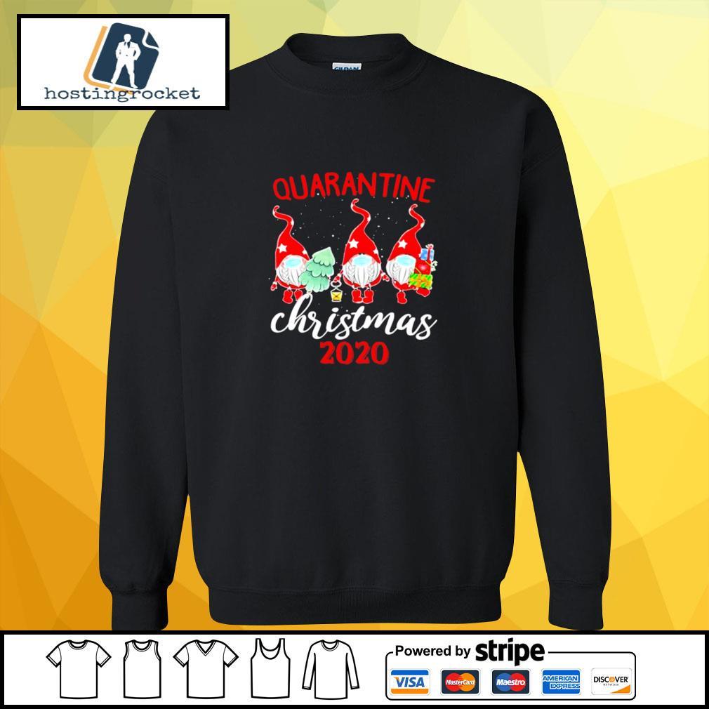 Gnomies Quarantine Christmas 2020 s sweater