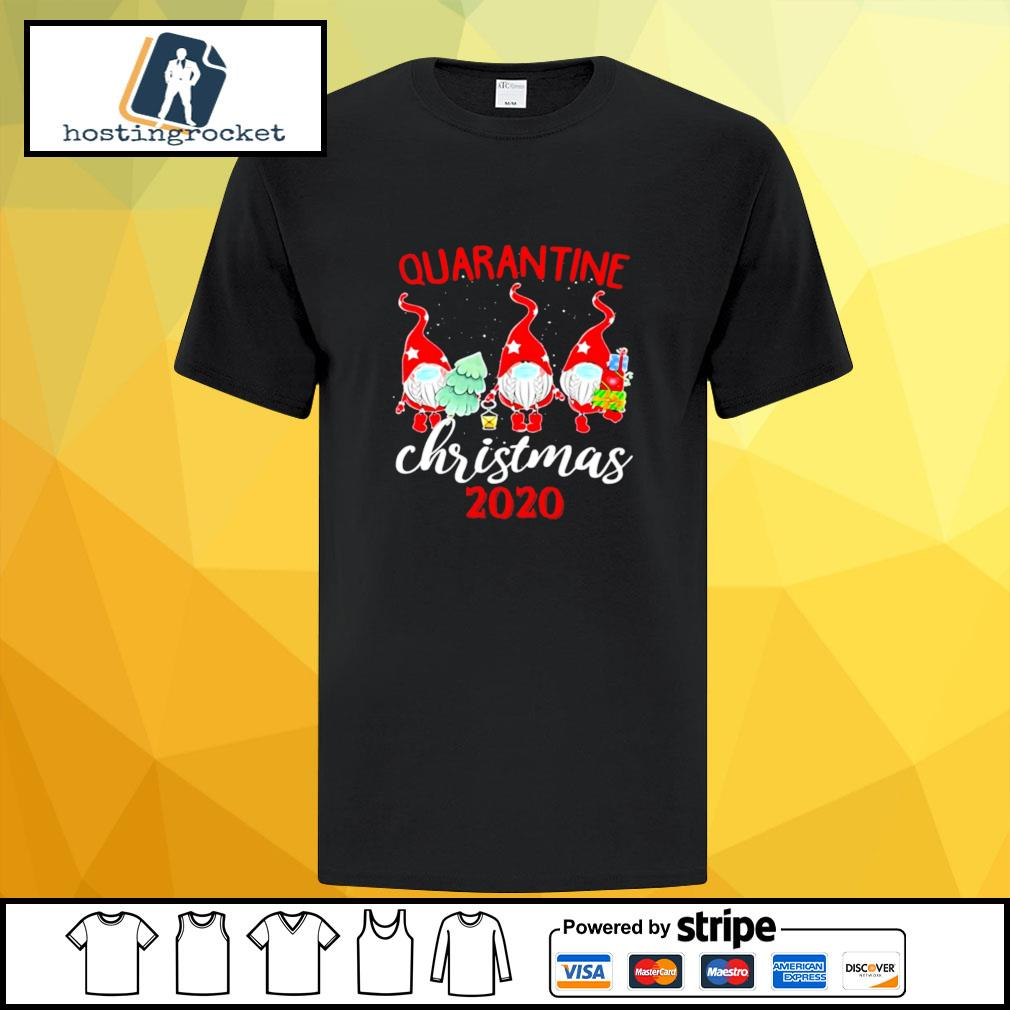 Gnomies Quarantine Christmas 2020 shirt