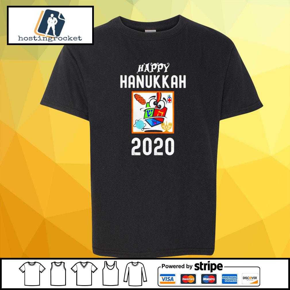 Happy hanukkah 2020 sanitizer and challah s shirt