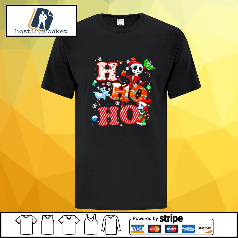 Ho Ho Ho Nightmare Before Christmas Shirt
