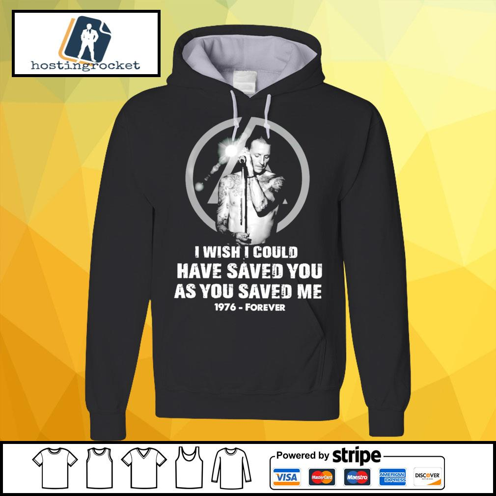 I wish I could have saved you as you saved me 1976 forever s hoodie