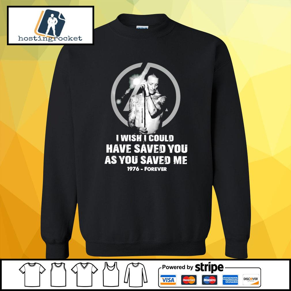 I wish I could have saved you as you saved me 1976 forever s sweater