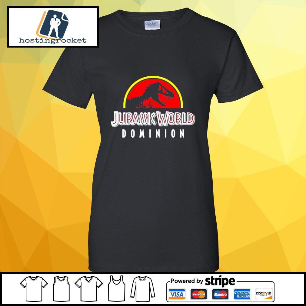 Jurassic World Dominion s ladies-tee