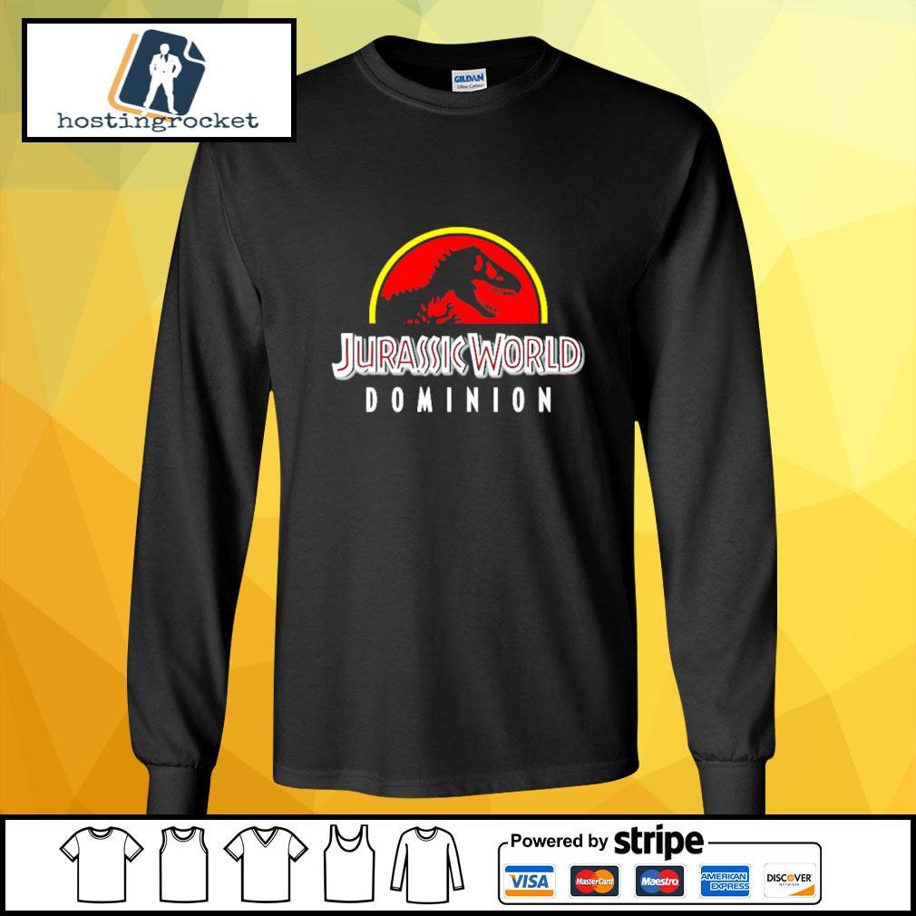 Jurassic World Dominion s longsleeve-tee