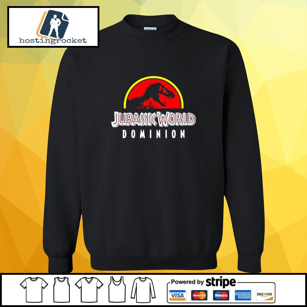 Jurassic World Dominion s sweater