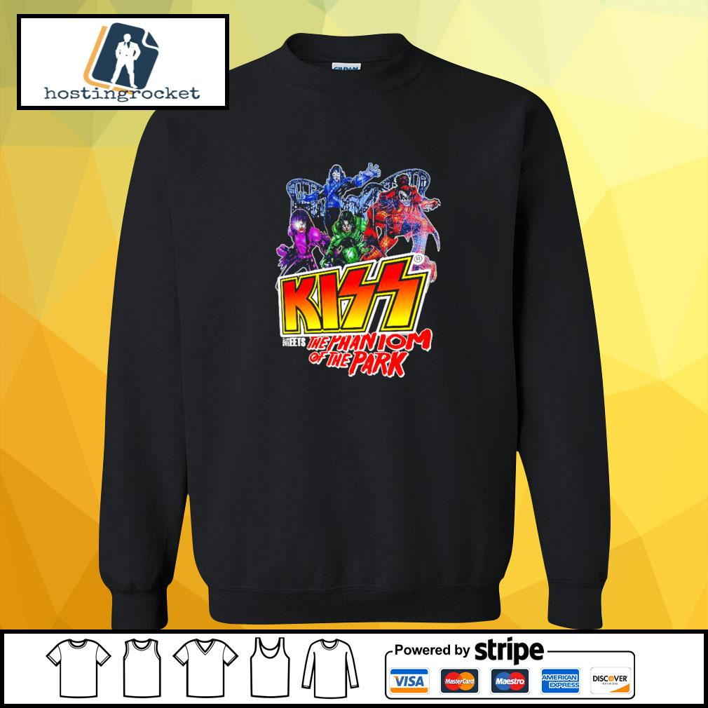 Kiss meets the Phantom of the park s sweater