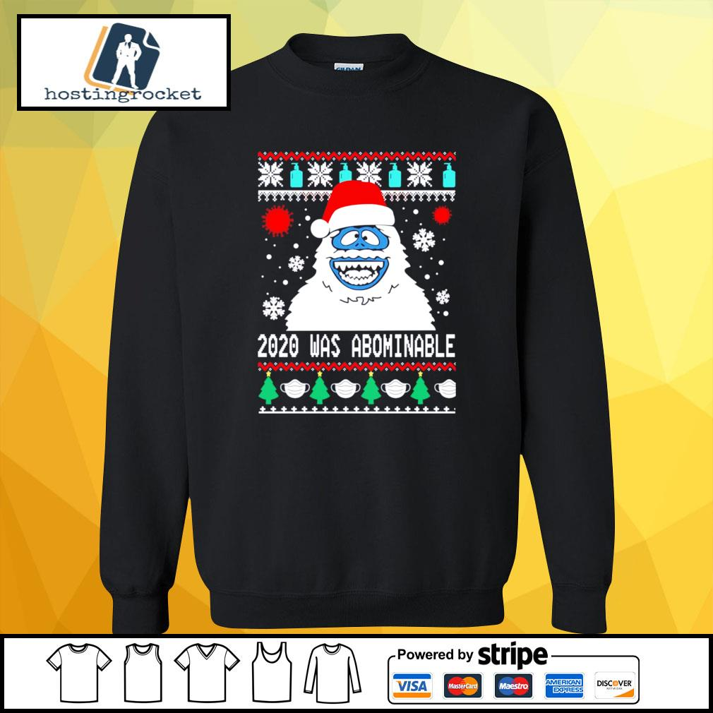 Snowman 2020 was abominable ugly Christmas s sweater
