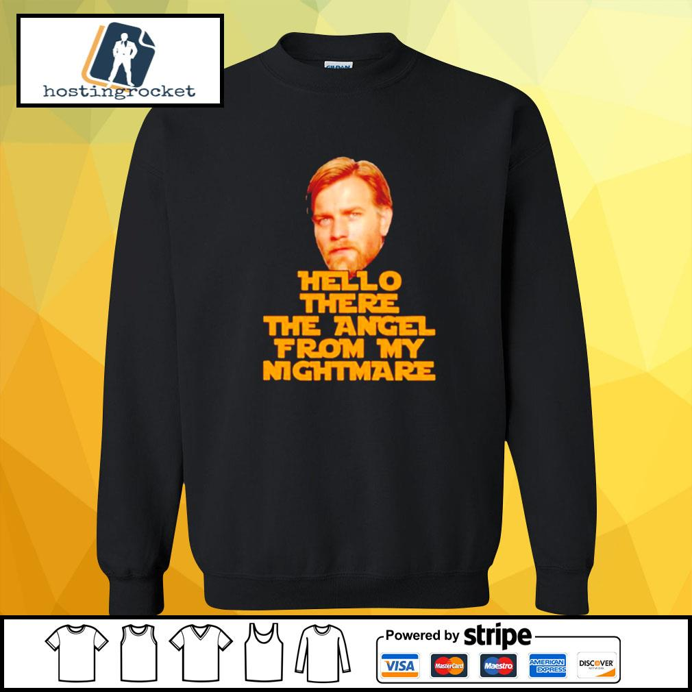 Star Wars Ewan Mcgregor hello there the angel from my nightmare s sweater