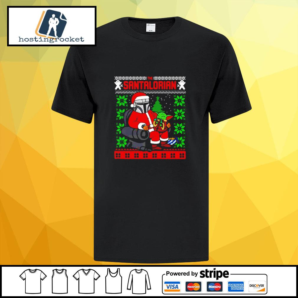 The Santalorian Ugly Christmas shirt
